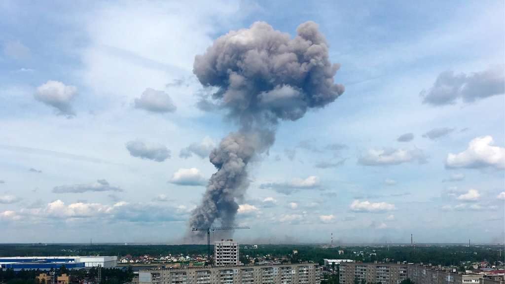Russland: Verletzte nach Explosion in Sprengstofffabrik