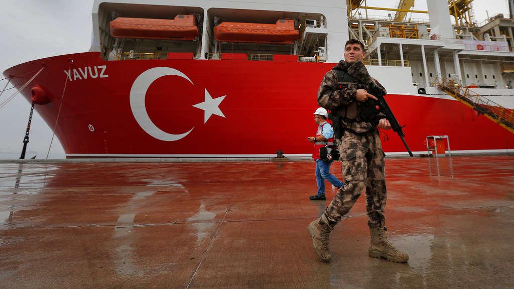 Zypern - EU-Sanktionen wegen Gas-Erkundungen - Türkei gibt sich unbeeindruckt