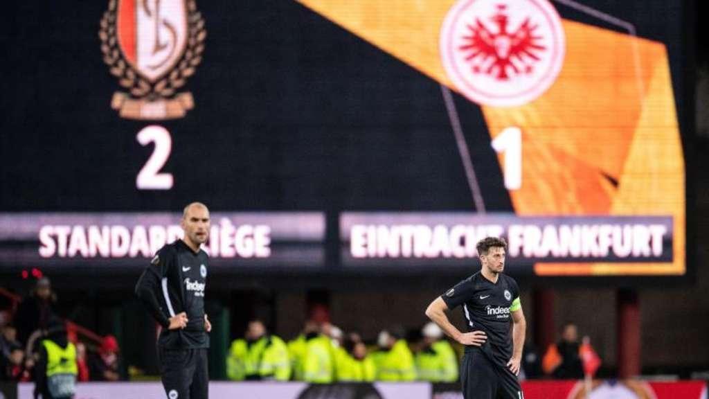 Europa League: Standard Lüttich - Eintracht Frankfurt 2:1