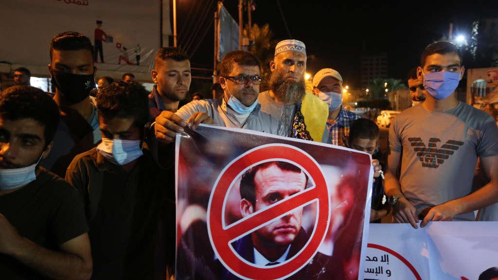 Präsident Erdogan fordert Türken zum Boykott französischer Waren auf
