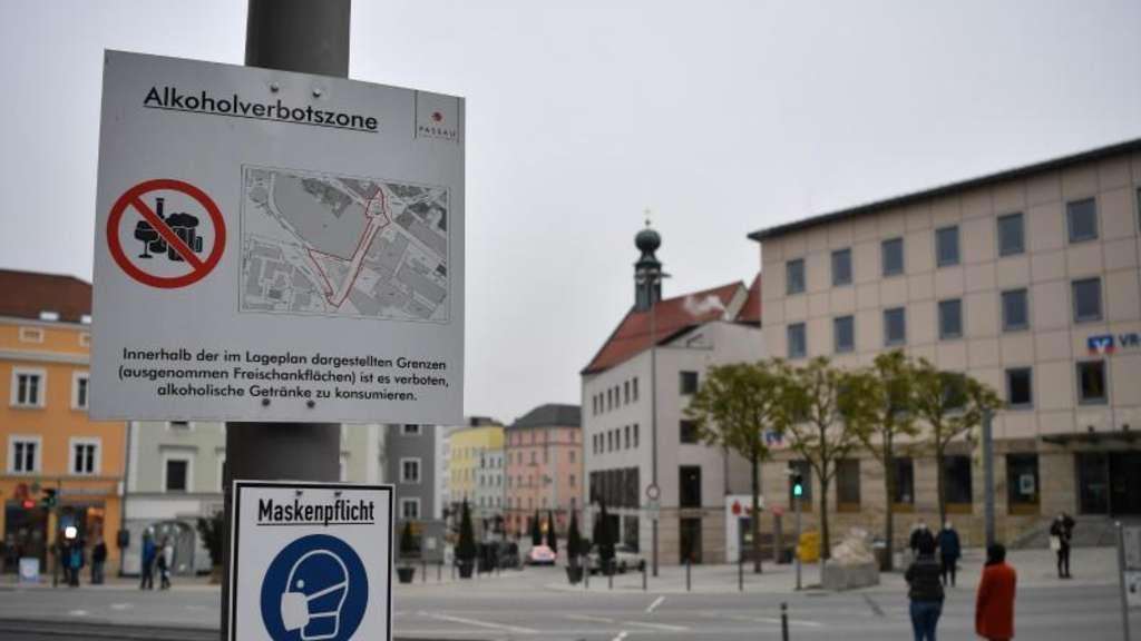 Covid-19 - Ausgangssperre in Passau beginnt