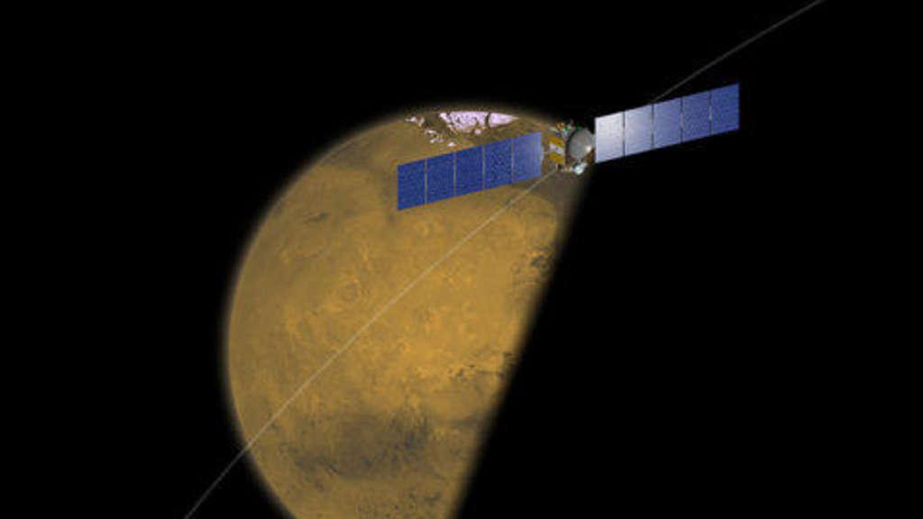 Kursänderung Am Nachbarplaneten Mars Wissen