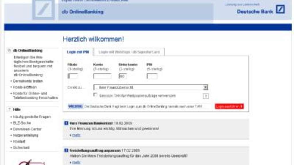 Db Online Banking Deutschland
