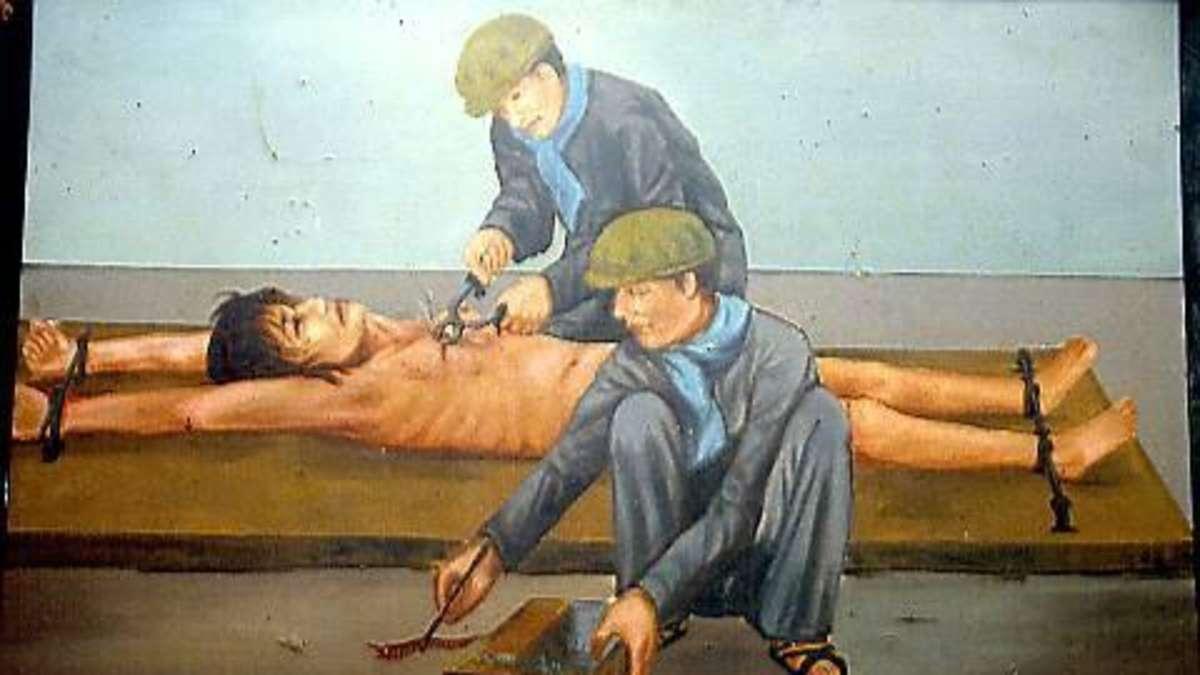 Nackte Frauen Foltern