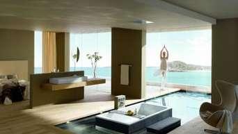 Die Badewanne neben dem Bett | Wohnen