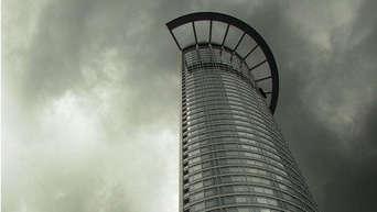 Die Fassadenkletterer Dresdner Bank