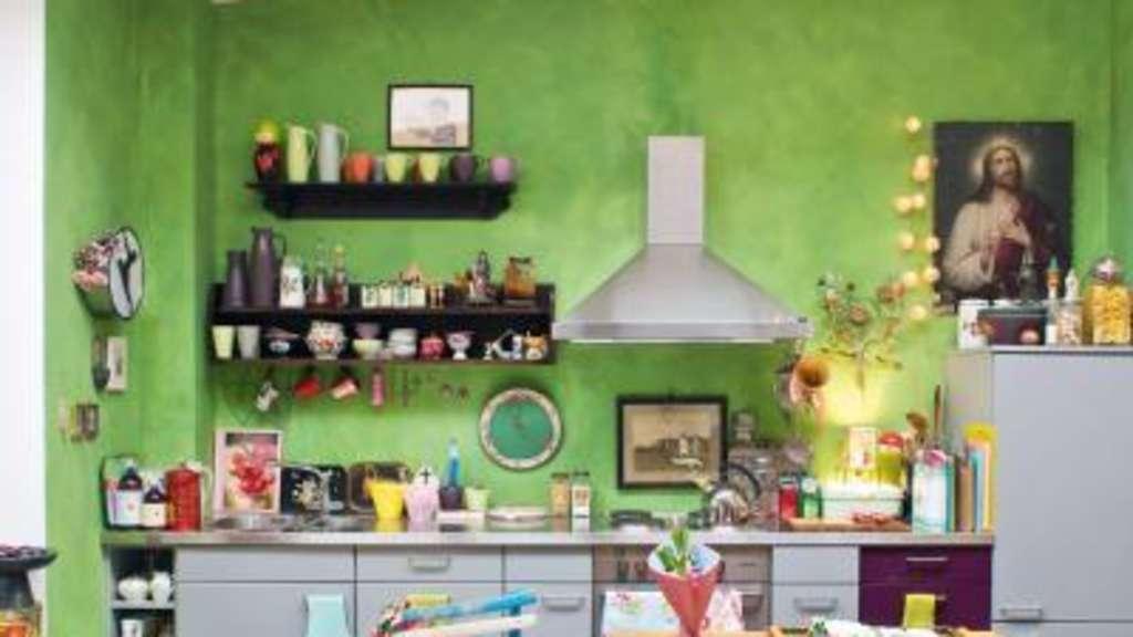 Kleine Küchen kreativ gestalten | Wohnen
