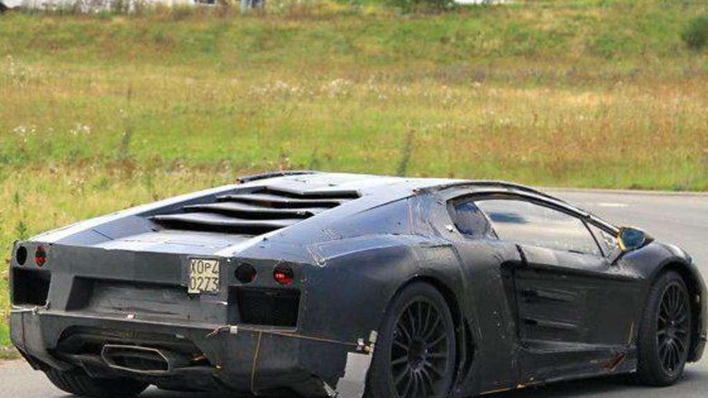 Erste Bilder Des Murcielago Nachfolgers Auto