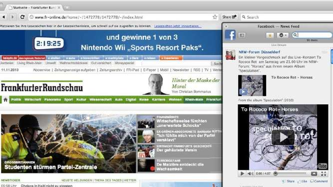 "So funktioniert der neue ""Facebook""-Browser"
