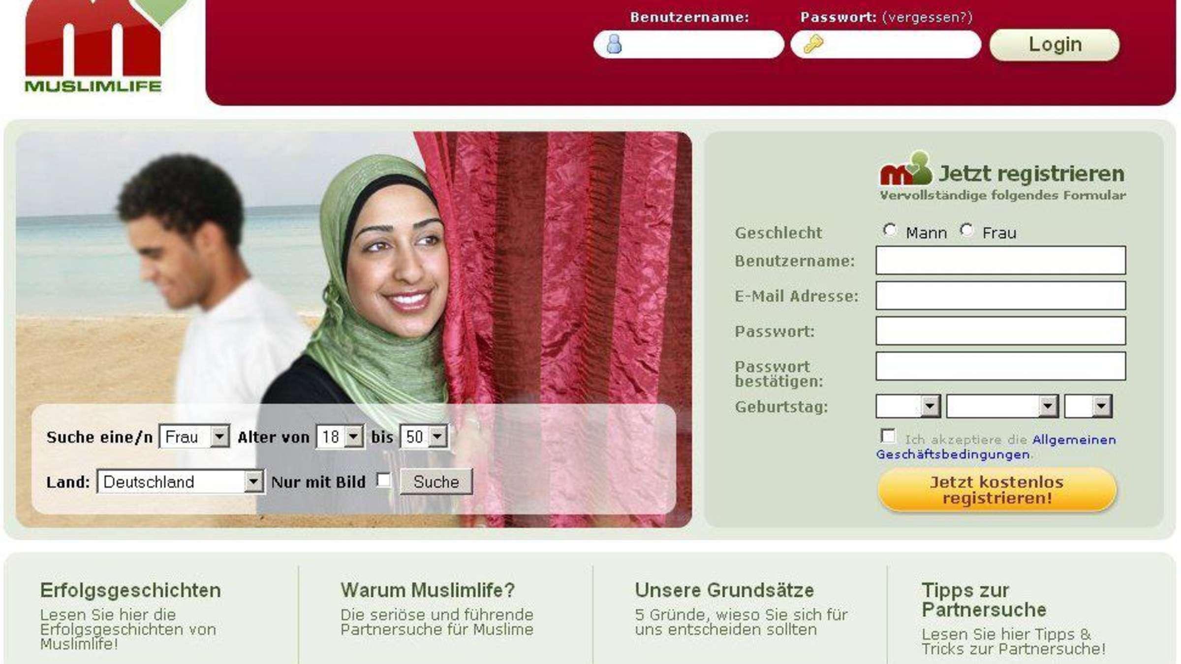 Heiraten deutsche muslima Will mich