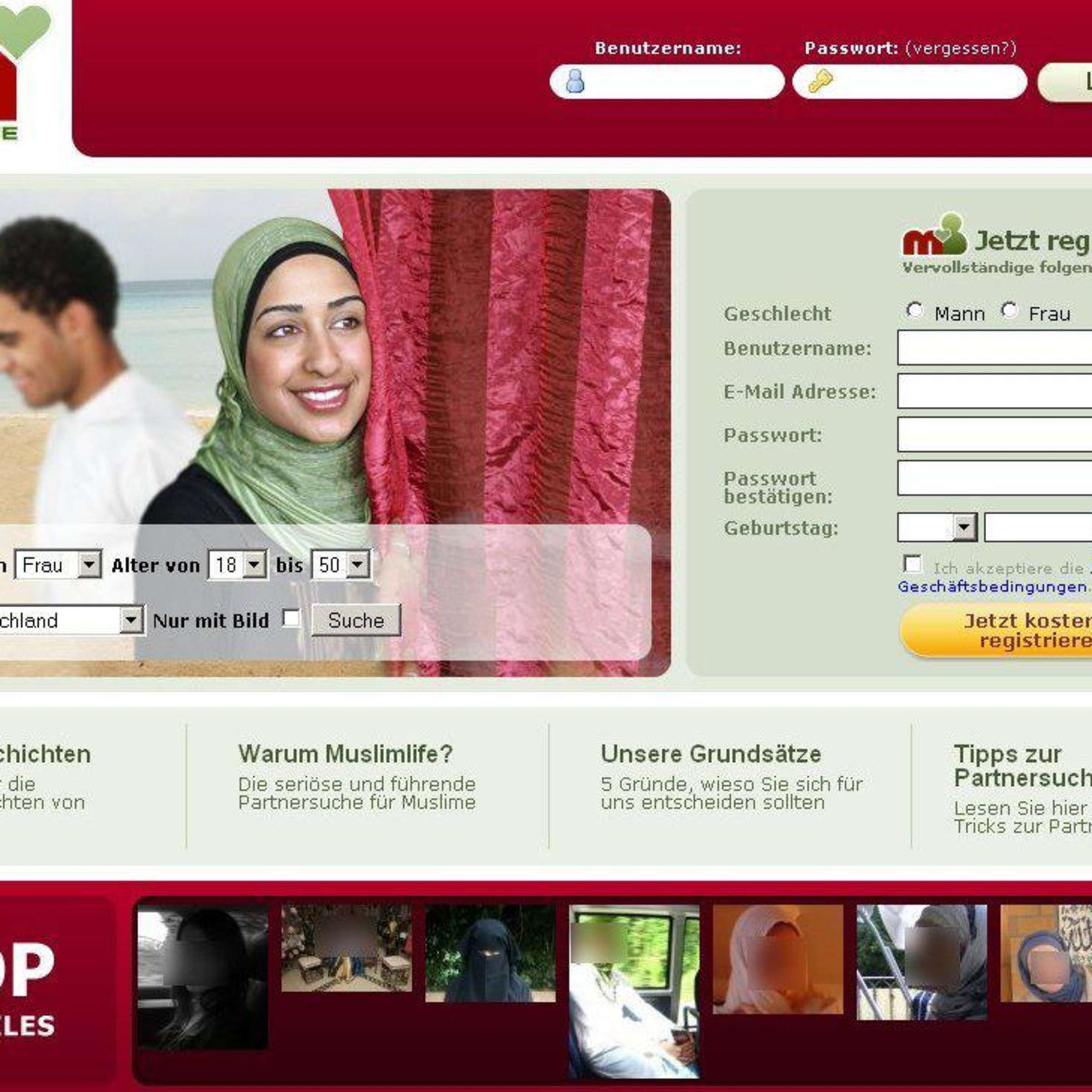 Sucht muslima muslime Muslimlife