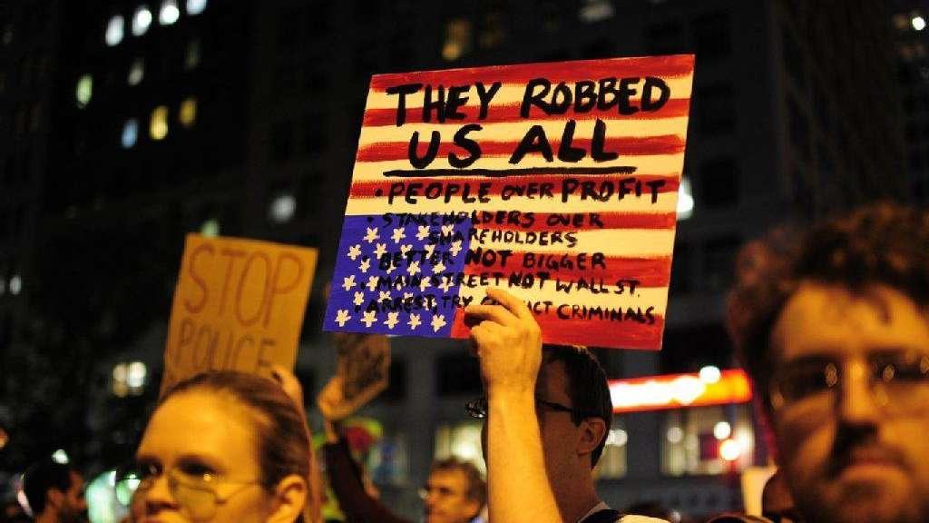 Anti Wallstreet Proteste Werden Größer Politik