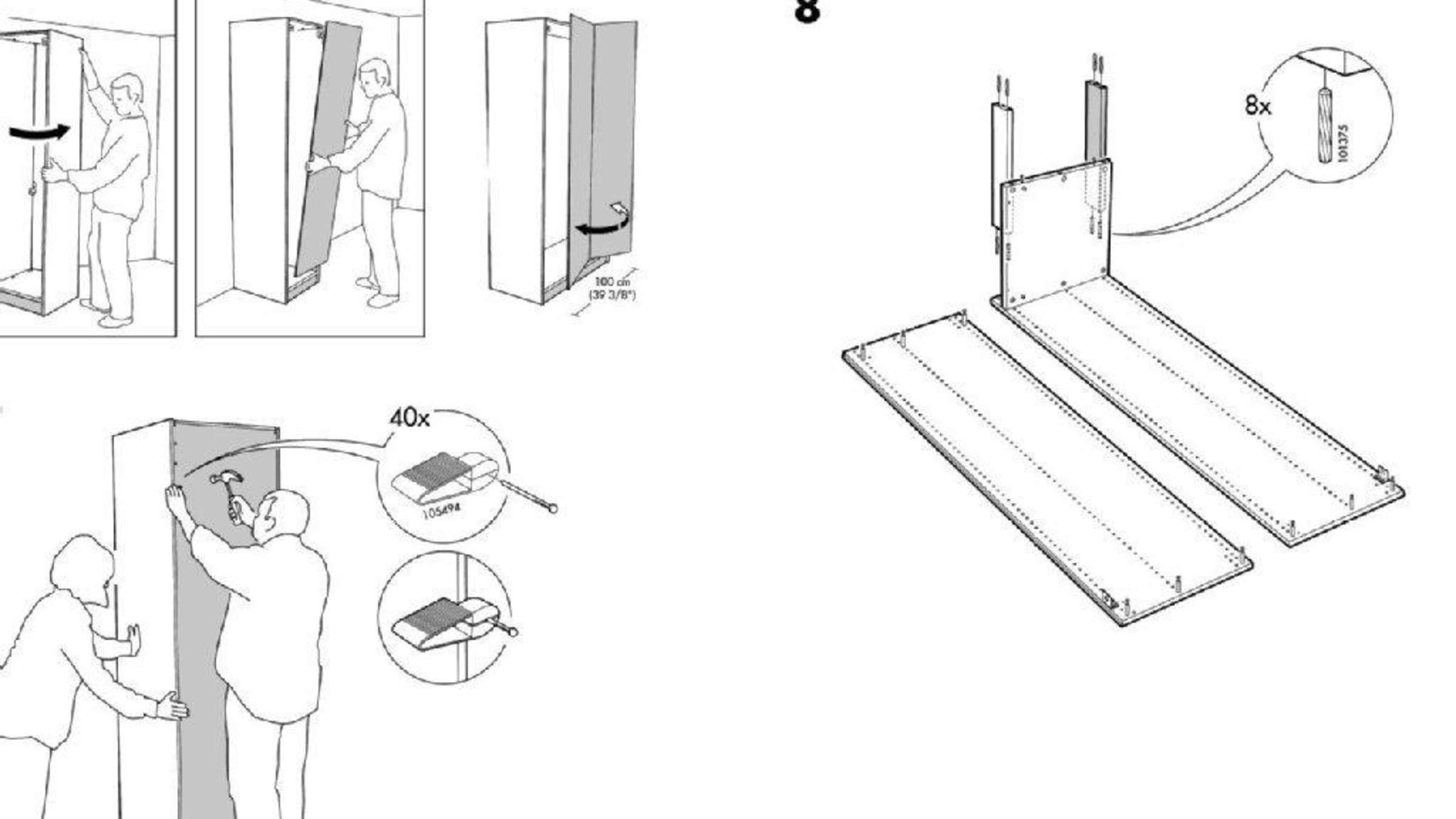 Ein Schrank Wie Ein Eckhaus Ikea