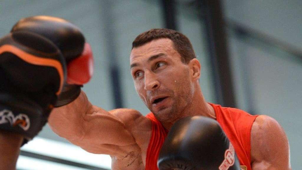 Klitschko Verspricht Brutalen Kampf Sport A Z