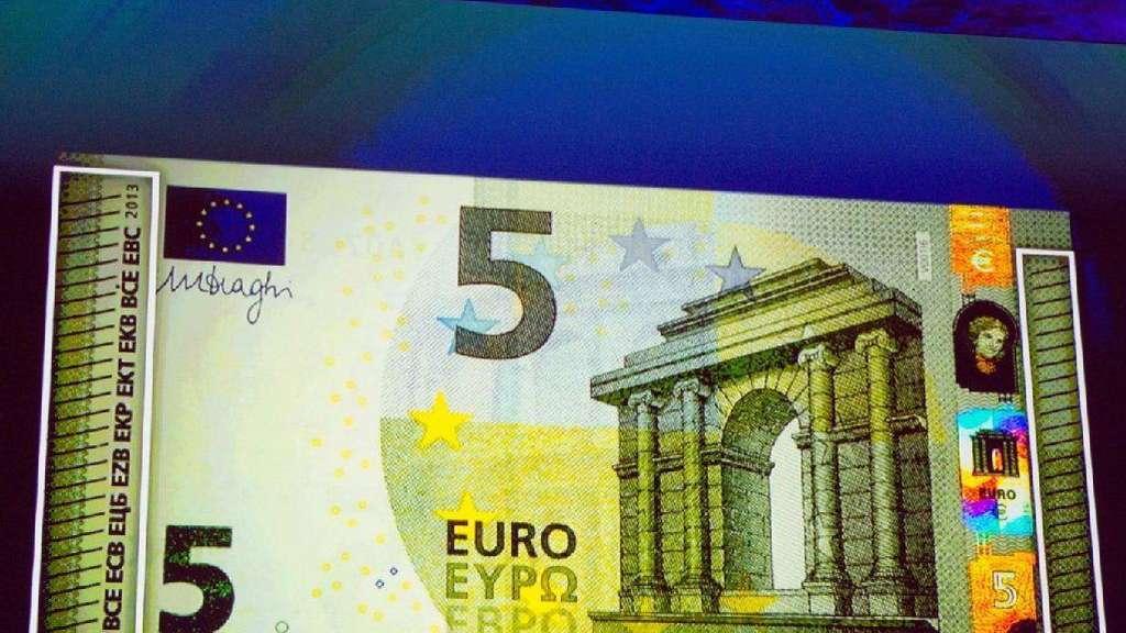 Euro Scheine Mit Neuem Gesicht Wirtschaft