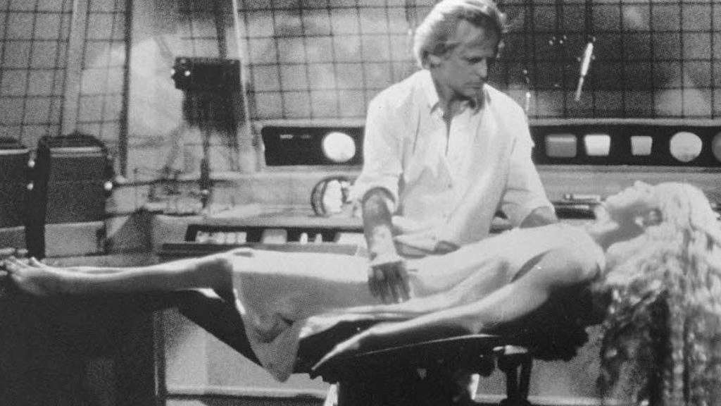 "Klaus Kinski 1982 in dem Film ""Der Android""."