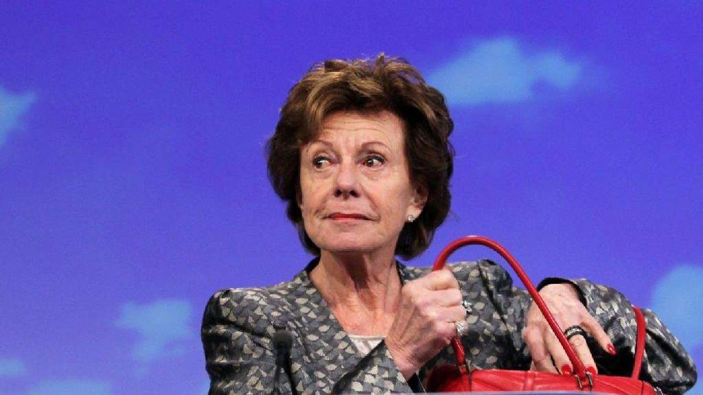 Digitalkommissarin Neelie Kroes.