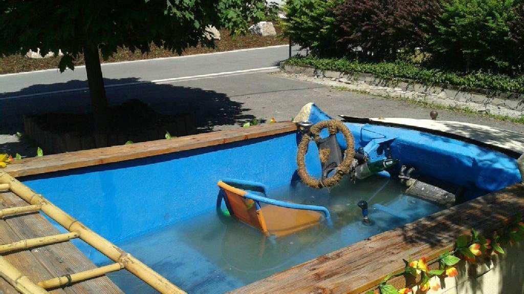 Polizei Stoppt Pool Mobil Auto
