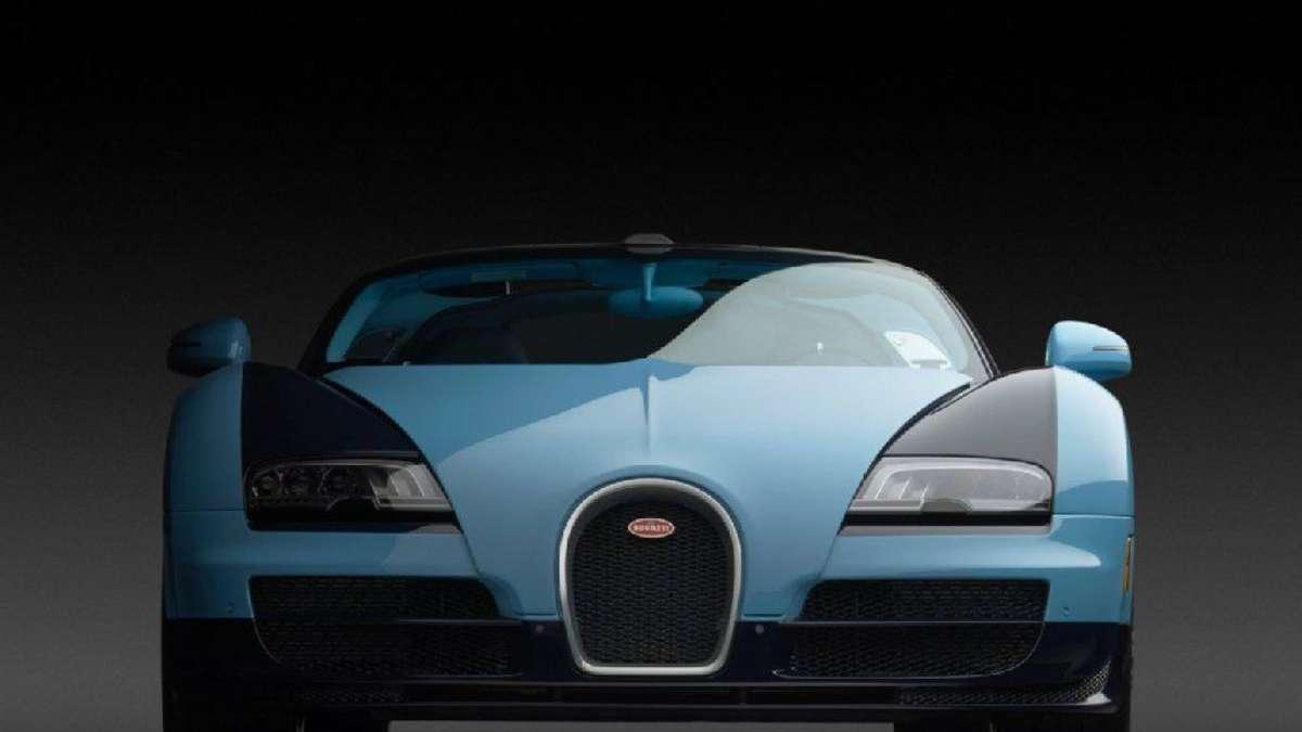 official photos f99da 8db74 Limitierter Bugatti kostet Millionen   Auto