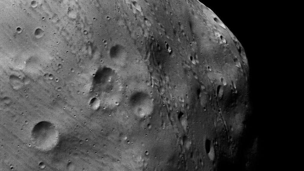 Mars Express Kommt Mond Phobos Ganz Nah Wissen
