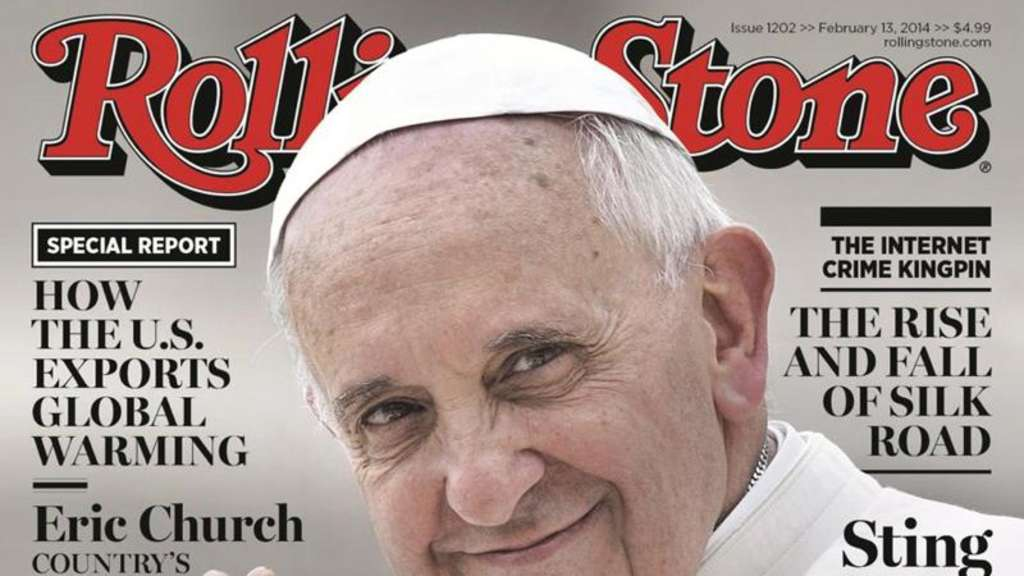 "Papst Franziskus auf dem ""Rolling Stone""-Cover"