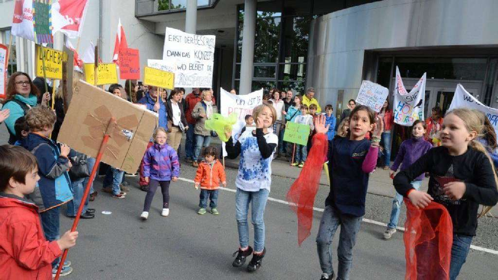 Doppelter Protest