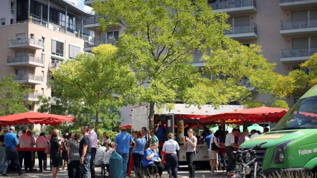 Vom Bürostuhl An Den Bratwurststand Frankfurt