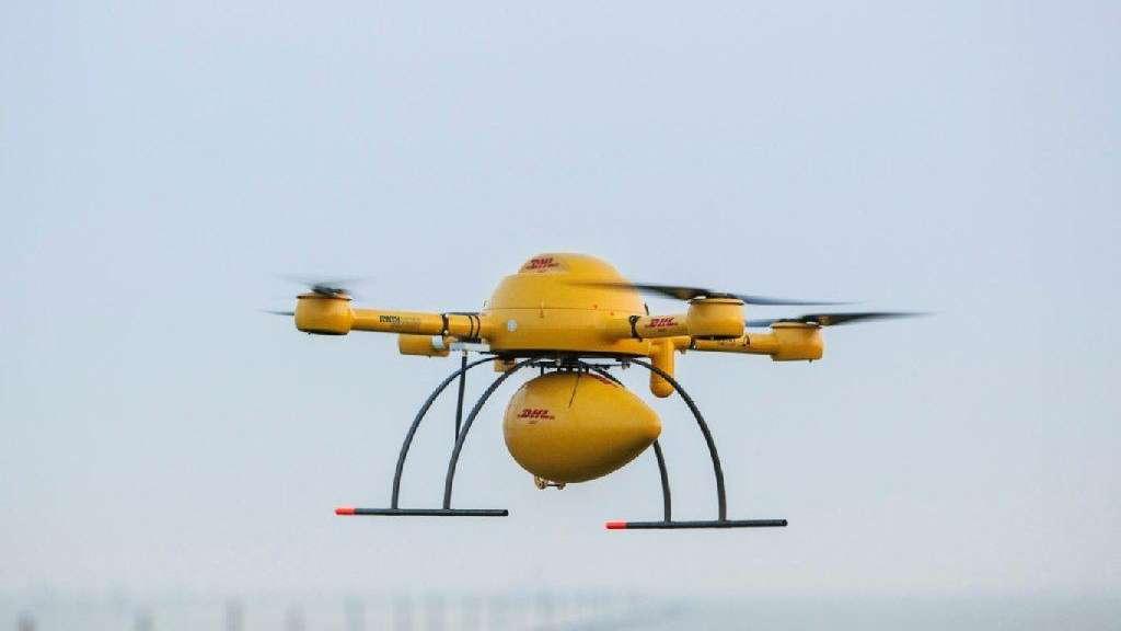 Dhl Testet Erstmals Paket Drohne Wirtschaft