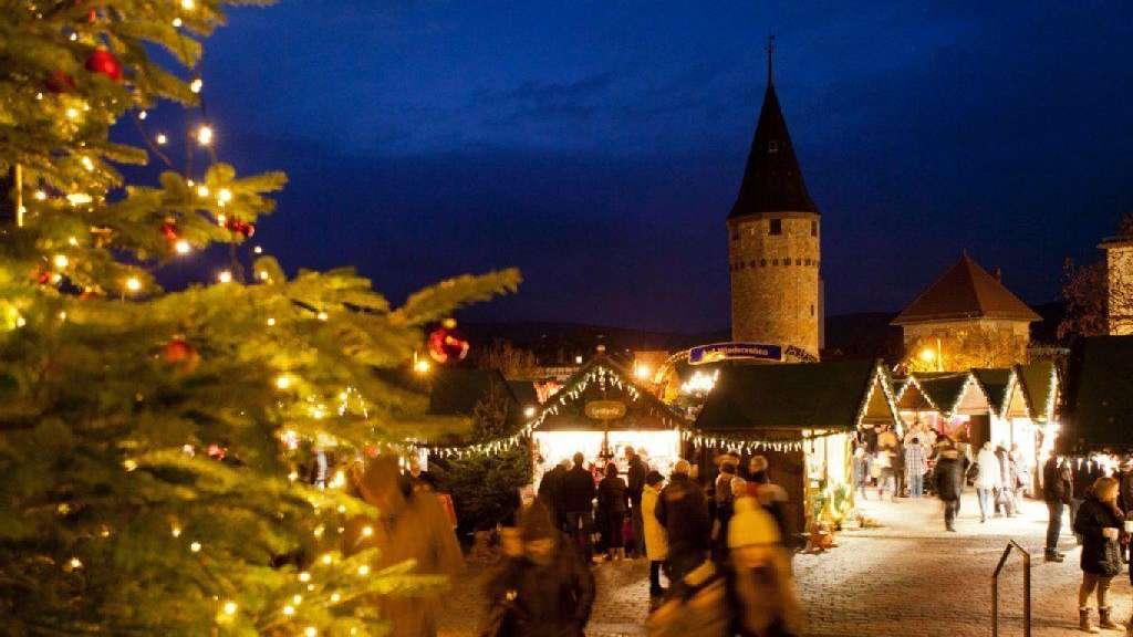 Weihnachtsmarkt Bad Homburg.Ein Luftiger Weihnachtsmarkt Peter Pan