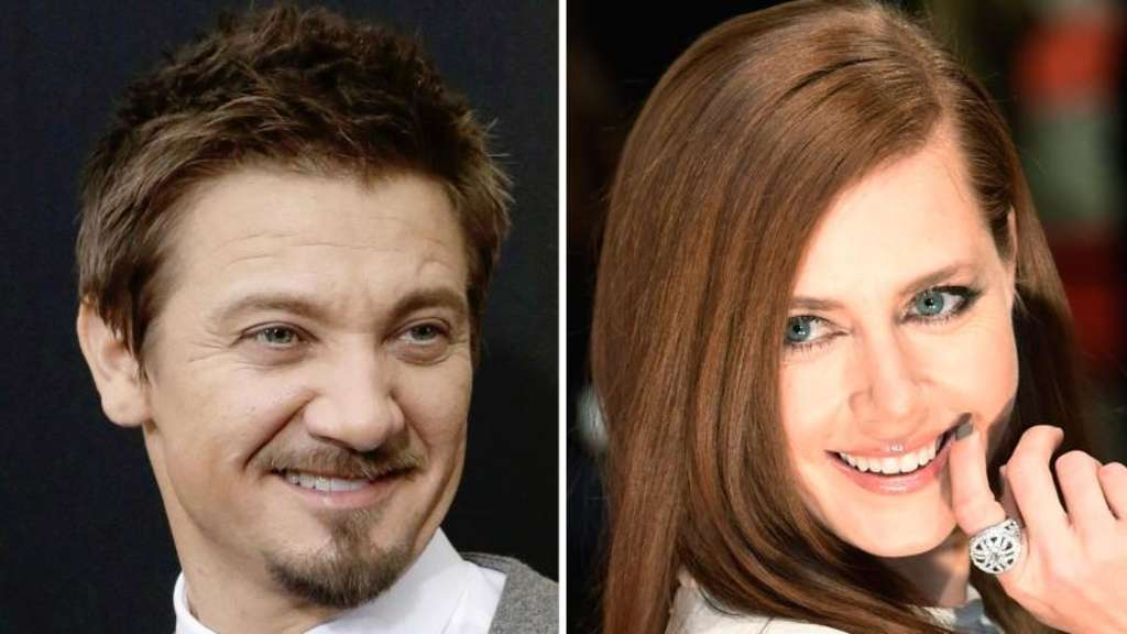 Jeremy Renner mit Amy Adams in