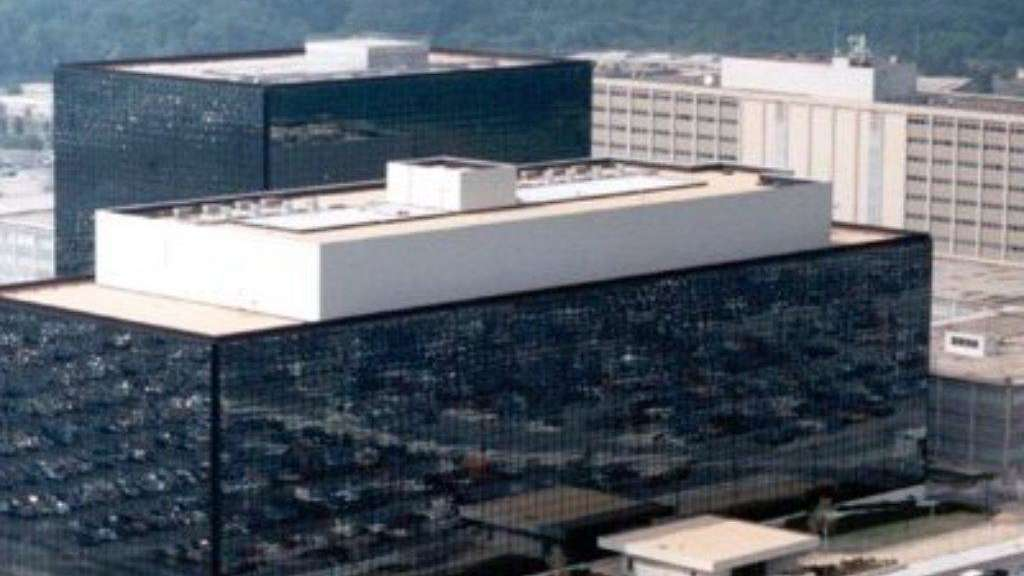 Das Hauptquartier der NSA in Fort Meade, Maryland.