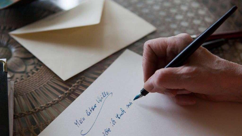 Das Ist Wichtig Wenn Sie Ihr Testament Schreiben Geld