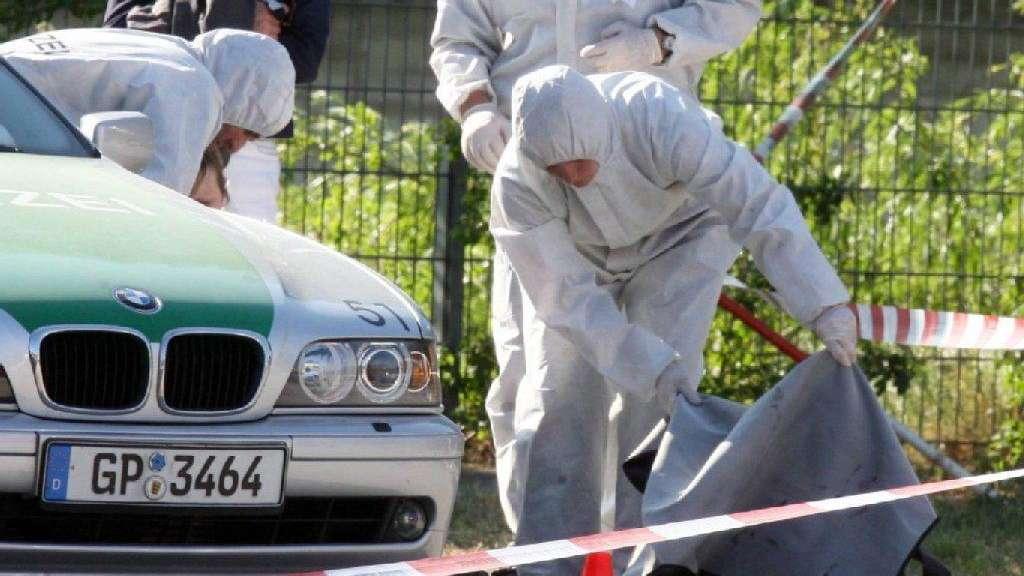 9fd3ca9ce845fe Opfer des rechtsextremen NSU  Tatort der ermordeten Polizeibeamtin Michèle  Kiesewetter.
