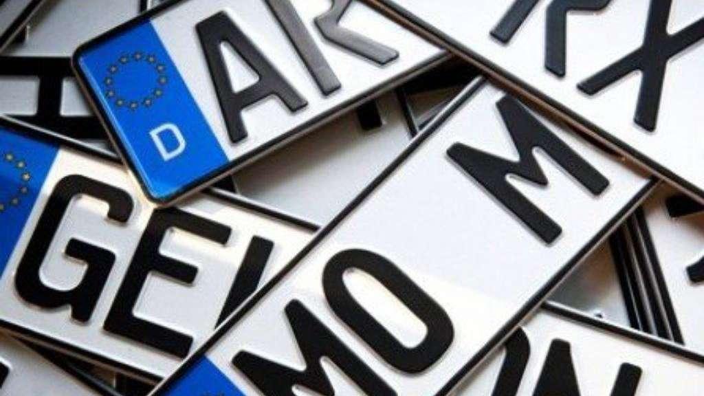 Was Bei Kennzeichen Alles Verboten Ist Auto