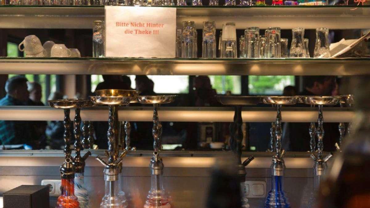 Shisha-Bar geschlossen   Frankfurt