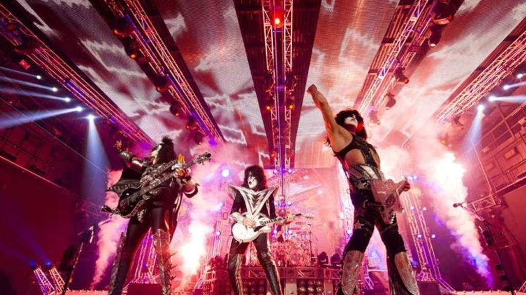 Kiss rocken Las Vegas