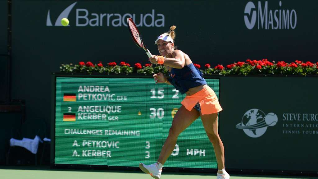Kerber in Indian Wells in Runde drei