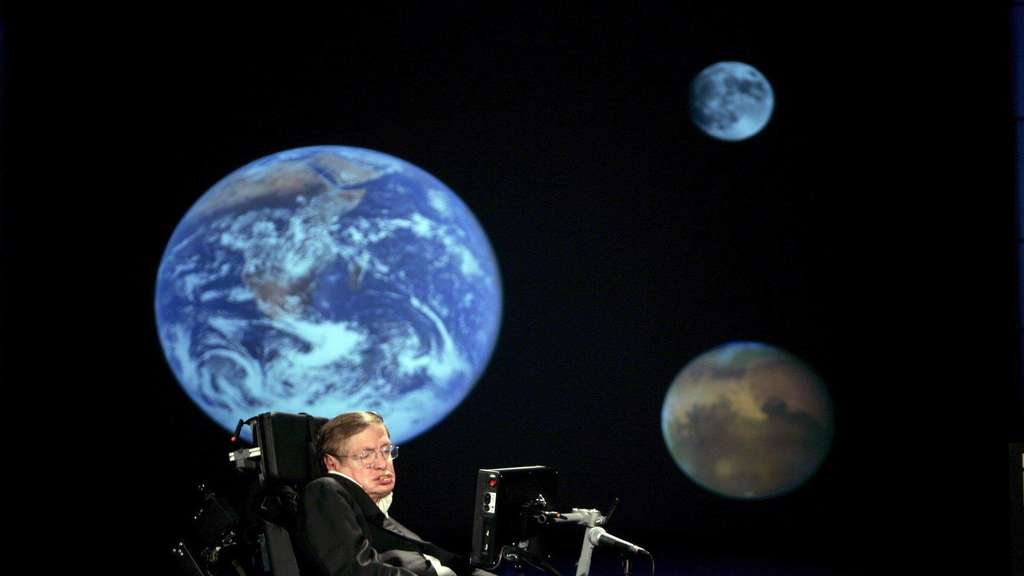 Stephen Hawking will ins All fliegen