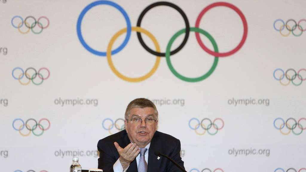 "Doping: IOC-Präsident sieht ""massive Probleme"" in Russland"