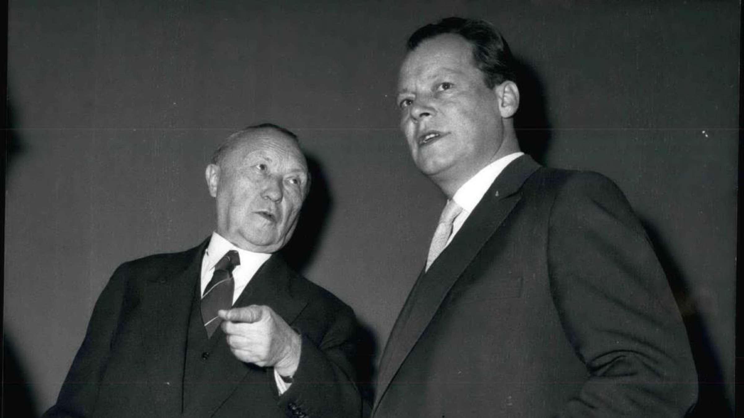 Der Undemokratische Adenauer Politik