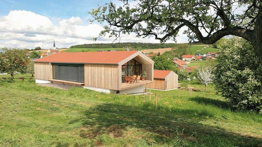 Harmonisch Im Dorfbild Neubau In Regionaler Tradition Wohnen