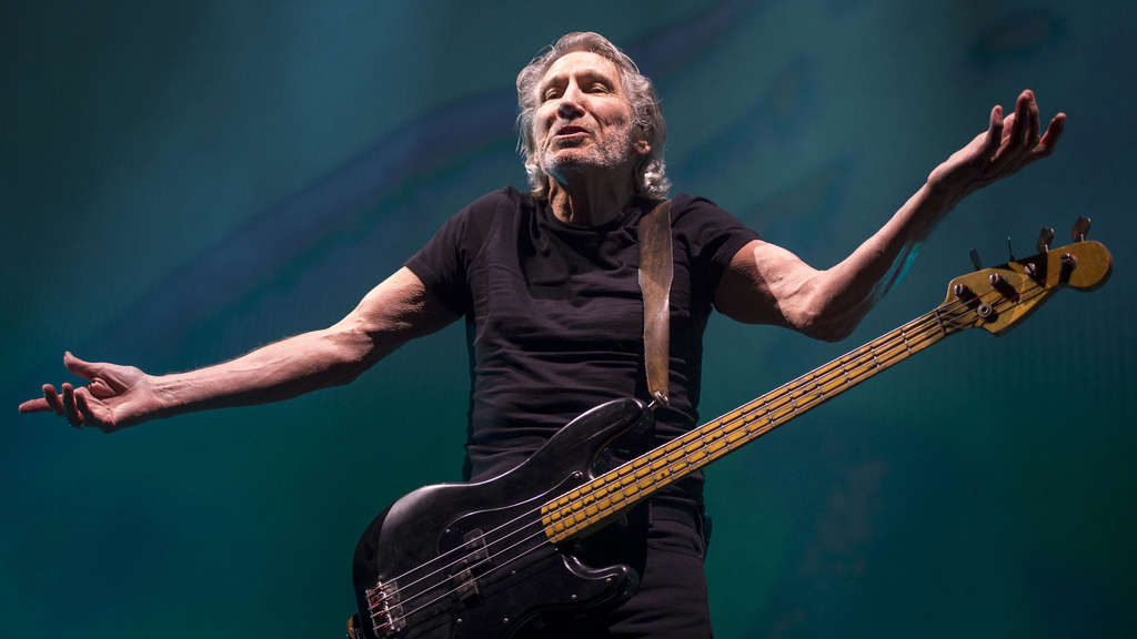 Roger Waters beim Konzert in Kansas City.