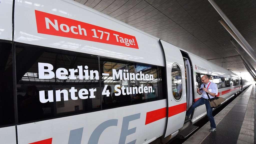 Bahn Schafft Berlin München In Vier Stunden Wirtschaft