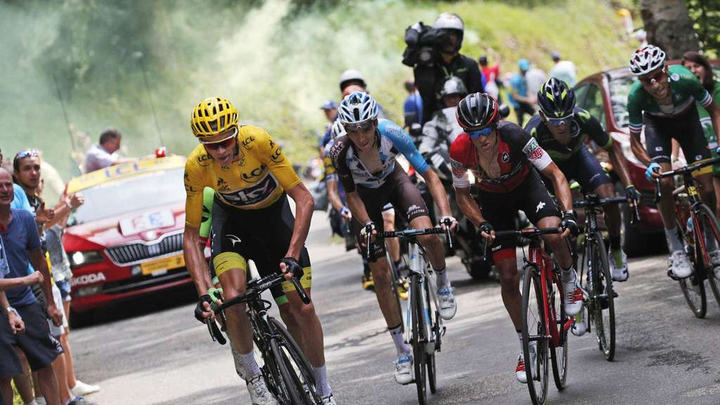 Froome gegen Aru - Favoriten-Duell mit fiesen Tricks