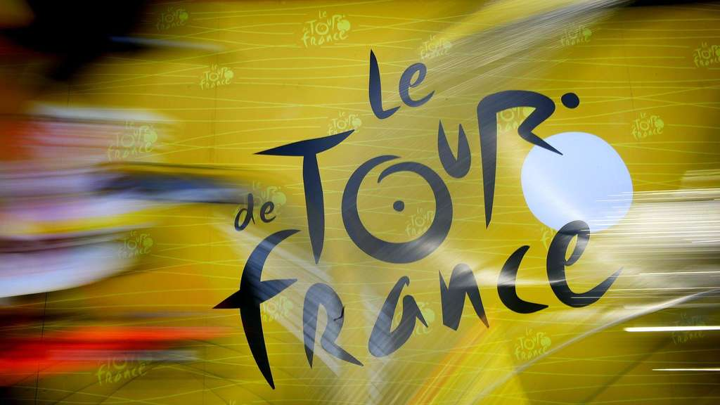 Das Logo der Tour de France.