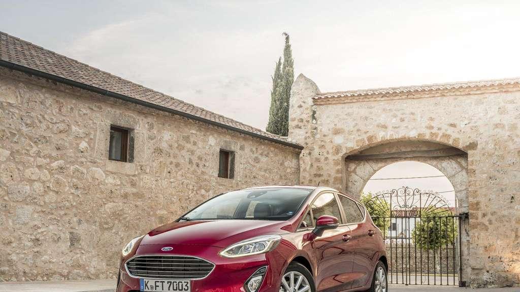 Ford Fiesta Im Test König Der Kleinwagen Auto