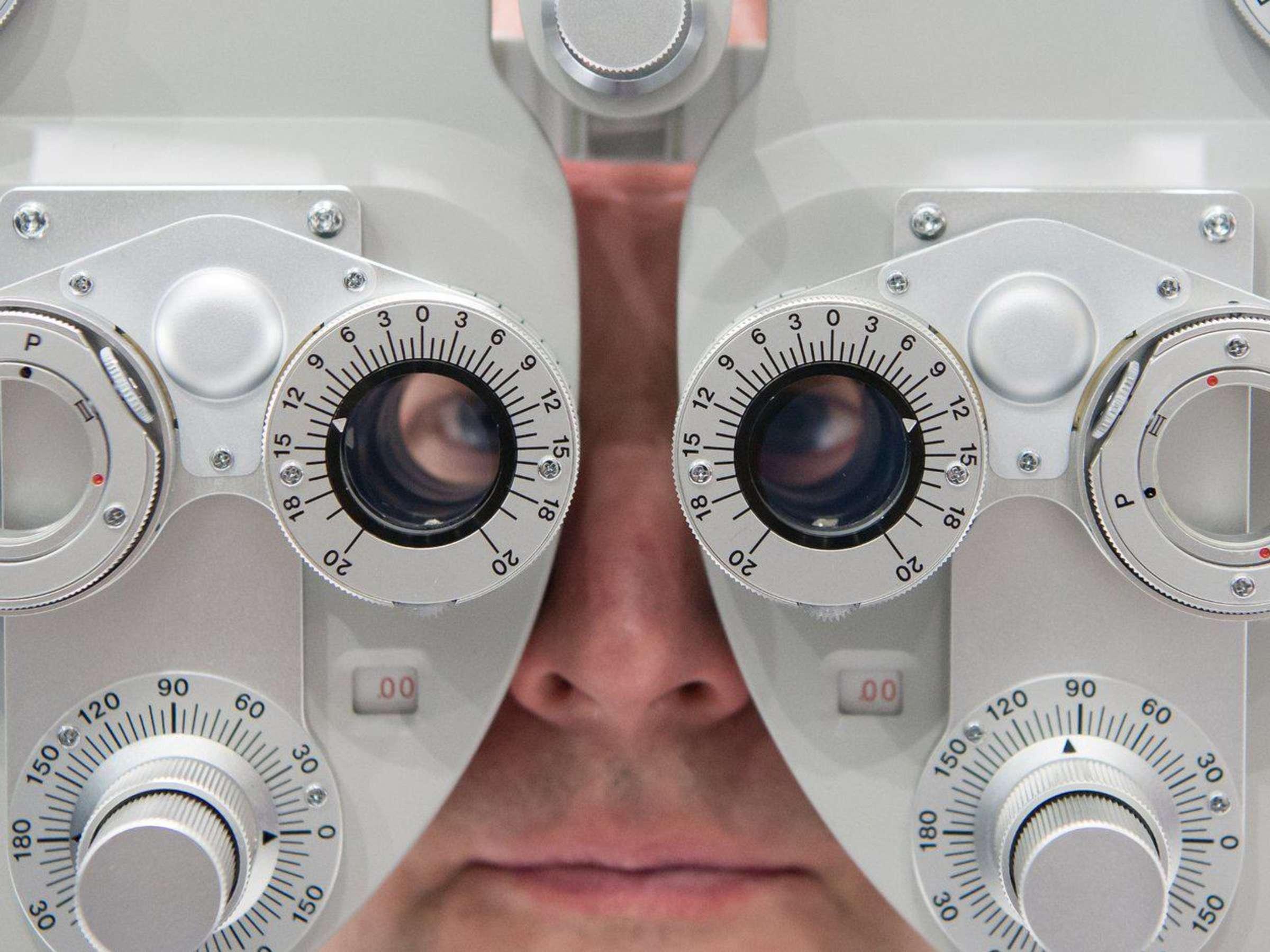 Man blind ab welcher ist sehstärke Blinden