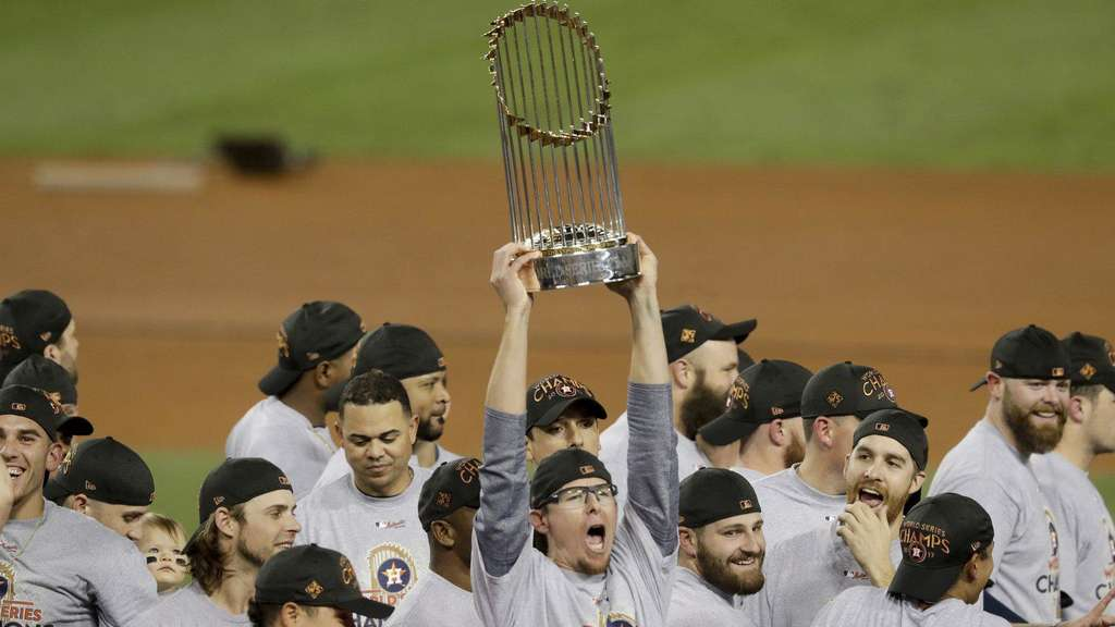 Houston Astros gewinnen World Series