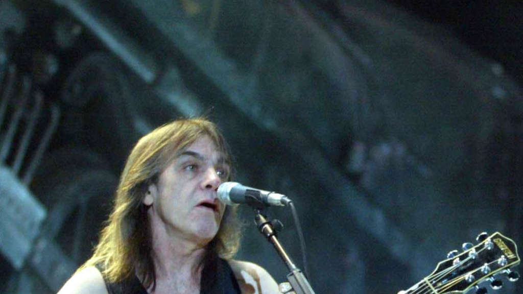 Malcolm Young, hier 2014 in Mexiko.
