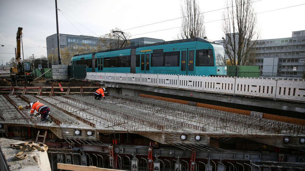Bau Der Neckermannbrücke Kommt Voran Rhein Main